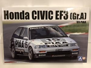 1989 Honda EF Civic GR.A PIAA 1 24 Scale Model Kit Beemax 24005