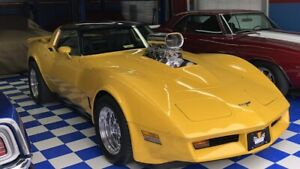 Show Quality Vette with 671 BDS Blower