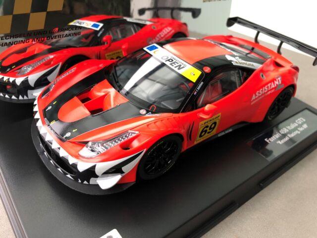 Carrera 23838 Digital 124 Ferrari 458 Italia Gt3 Kessel Racing No 69 Slot Car