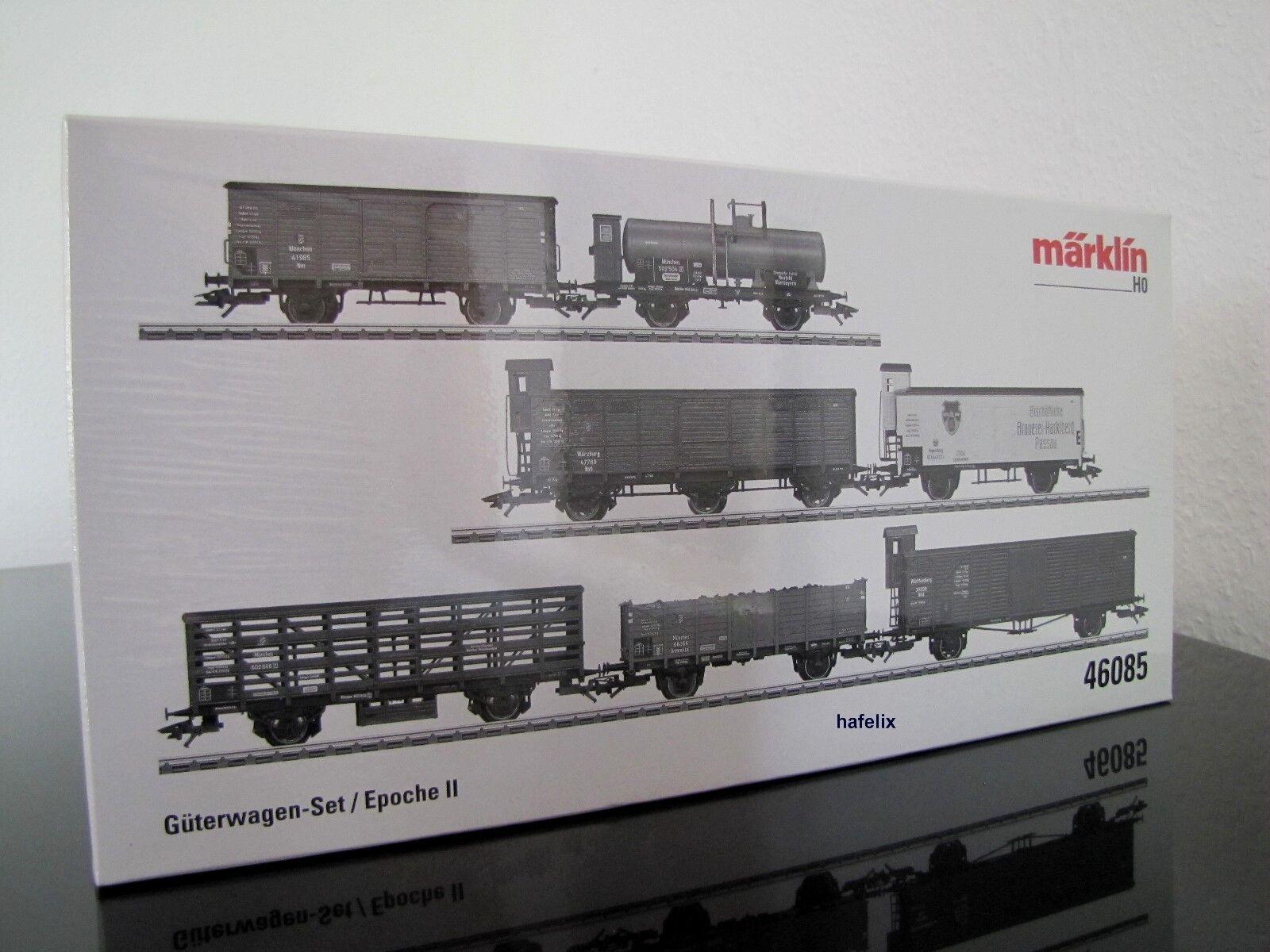 Märklin h0 46085 7 pezzi Bayerisches beni Wagenset (DR), Nuovo Scatola Originale