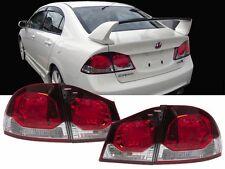 06-11 Honda Civic 4DR Sedan FACELIFT Style TYPE R JDM CONVERSION Tail Lights FD2