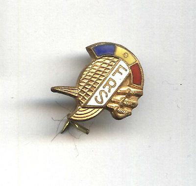 pin Romania Fencing Federation badge ESCRIME FRS sabre
