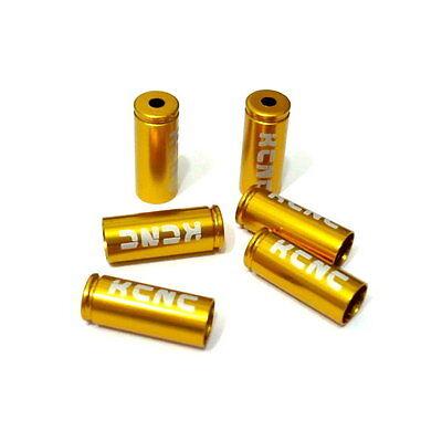 gobike88 KCNC Brake Housing End Caps, 5mm, 6 pieces, Gold, B85