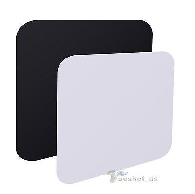 40cm x 40cm Photo Acrylic Reflective Reflection Board Display Black & White