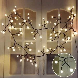 Image Is Loading Yming 8 3ft Vine Shaped Bedroom String Lights