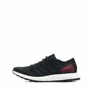 21a6719e6 adidas Pure Boost Men s Running Shoes Core Black Solid Grey