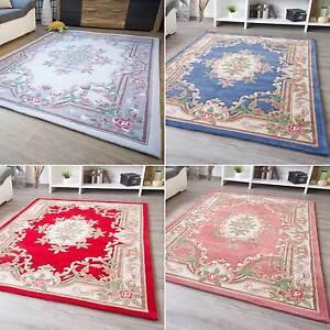 Orientteppich May Moderner Orient Teppich Rot Rosa Beige Blau