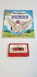 Walt Disney Story Of Dumbo Cassette Tape and Book Disneyland Records 1977 #3DC