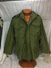 * Alpha Industries * Vtg 80s Field Jacket Coat Deadstock US ARMY Military OG-107