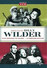 Directed by Billy Wilder: Five Graves to Cairo / A Foreign Affair 2-Disc DVD New
