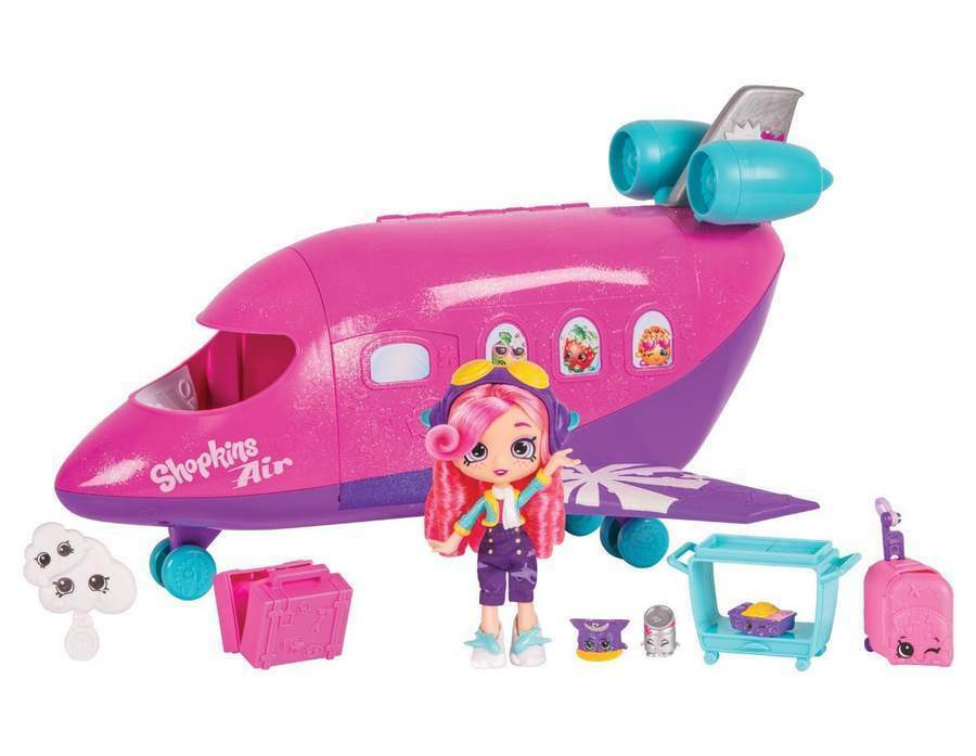 Shopkins Shoppies Skyanna's Jet Playset NEW Boxed and Ready to Ship