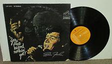 EDDIE FISHER Ain't Heard Nothin' Yet, orig RCA vinyl LP, 1968, VG+/VG, Carrie