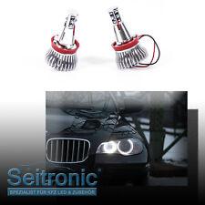 H8 Brenner LED Angel Eyes Marker für BMW X5 E70 ab 07 Corona Ringe, Seitronic®