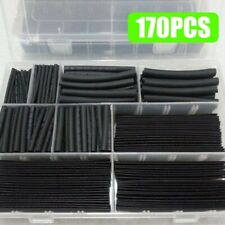 170x Heat Shrink Tubing Electrical Cable Wire Sleeving Wrap Cover Assortment