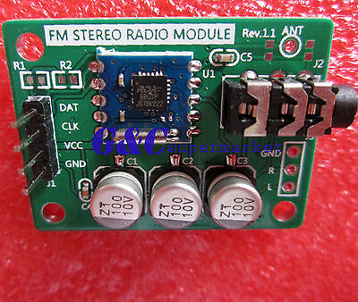 RDA5807 FM STEREO Low IF DIGITAL RADIO MODULE DIY For MP4/MP3 Player NEW MG7