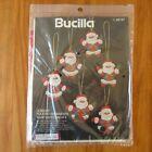 Bucilla Super Santa Jeweled Felt Ornaments Kit 48787 Christmas