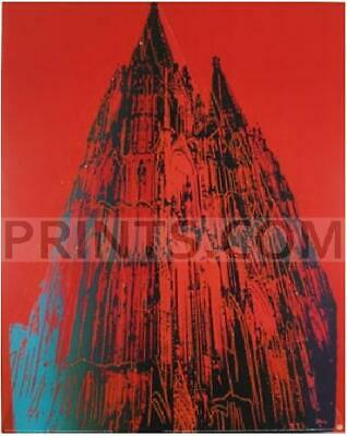 Andy Warhol-Koln Cathedral Blue-Poster