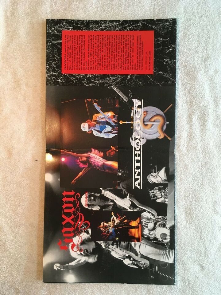 LP, Saxon, Anthology