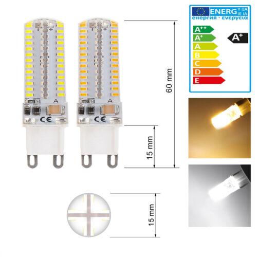 G9 LED Lampe SMD 3014 SilikonLampe Ersetzen Halogen AC 220V Warmweiß Kaltweiß
