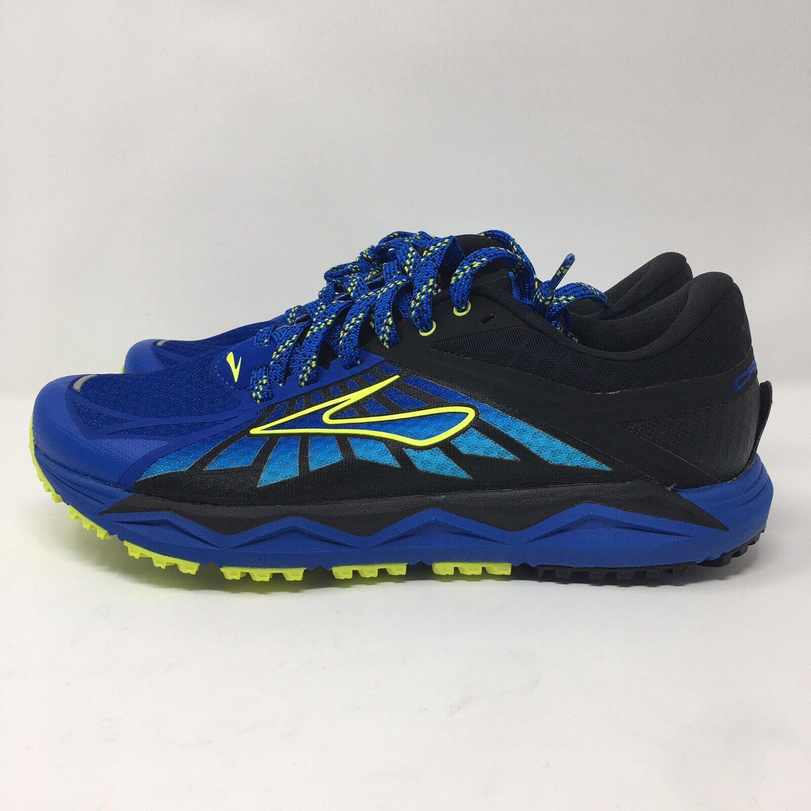 Brooks Caldera Trail Zapatos Azul Volt 1102421D445 para hombre Talla 8