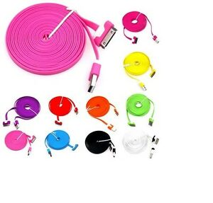 1M-2M-3M-FLAT-USB-DATA-SYNC-CHARGER-CABLE-FOR-IPhone-4-4S-3-IPAD-2-3-IPOD