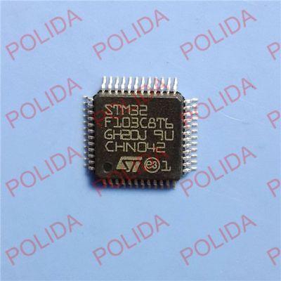 10PCS MCU ARM IC ST LQFP-48 STM32F103C8T6 STM32F103C8T6TR NEW