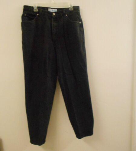 L.A. Blues Men's Size 18 Plain Black Straight Legg