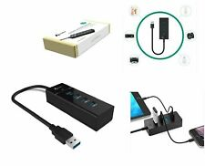 USB Hub Aukey SuperSpeed 4-Port USB 3.0 HUB Portable Multi-Port USB 3.0 Hub