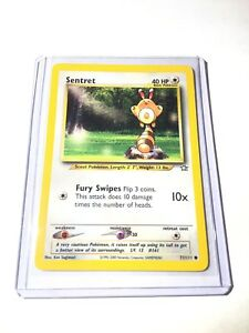 SENTRET-Neo-Genesis-Set-71-111-Common-Pokemon-Card-Unlimited-NM