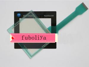 Membrane Keypad +Touch Screen Glass for Allen Bradley 2711-T6C8L1 2711-T6C9L1 BF