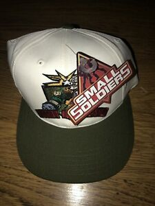 Vtg-1998-Small-Soldiers-Mission-Accomplished-Vintage-Snapback-Hat-Tag-Attached