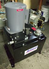 1 New Autoquip Hydraulic Power Unit With C184t34nk1b Motor Pump 5hp Nnb