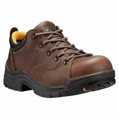 Comfort Shoes Timberland Pro Women's Titan Alloy Toe Work Shoes Brown Tb063189214
