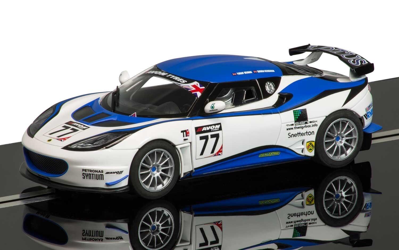 C3599 Scalextric Lotus Evora GT4 Kershaw Yusuf 77