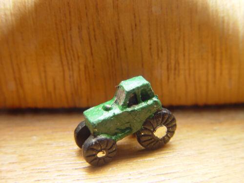 Maison de poupées échelle vert peint main jouet tracteur!!! Achat immédiat et ne pas manquer...