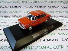 AK16 voiture 1/43 ixo atlas Auto Klassiker : NSU TT rouge orange