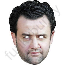 Daniel Mays Actor Celebrity Card Mask - Quality Masks Pre Cut With Elastic