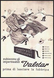 PUBBLICITA-039-1949-VALSTAR-IMPERMEABILI-DA-PIOGGIA-QUALITA-039-ABBIGLIAMENTO-MODA