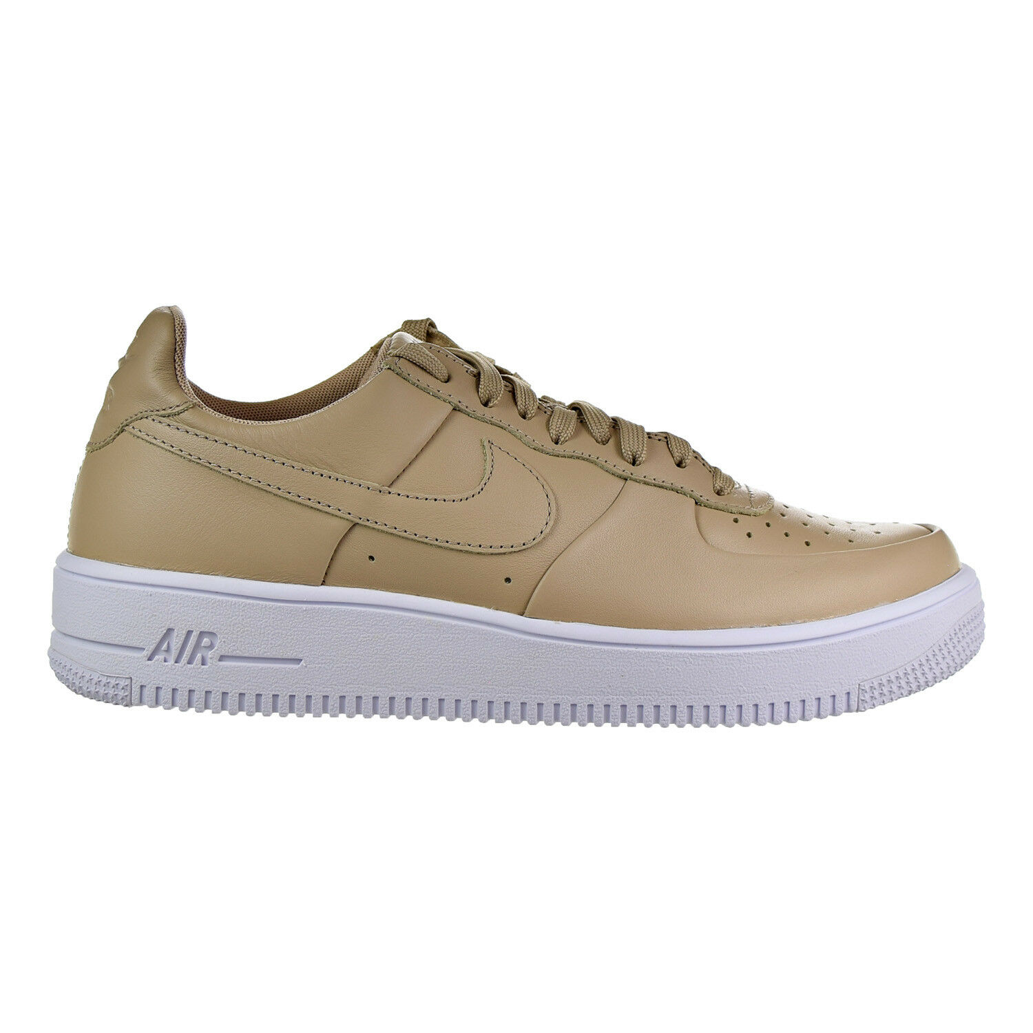 Nike Air Force 1 Ultraforce LTHR Men's Shoes Linen/Linen/White 845052-200