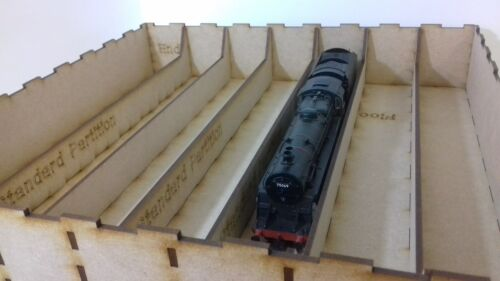 Laser Cut OO Gauge Model Railway Storage and Transportaton Box for Rolling Stock