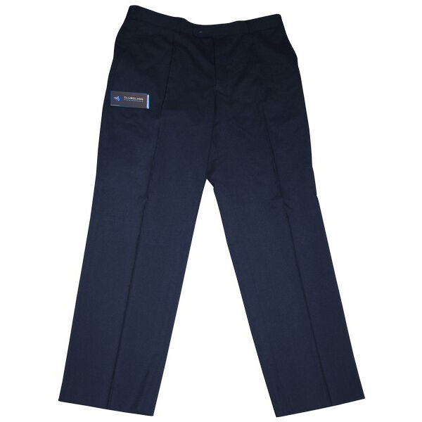 D0158 Gent's Romana Formal Navy Trousers (32 , 34 , and 36  Regular)