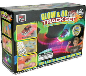 Glow-and-Go-Track-and-Light-Up-LED-Car-Set
