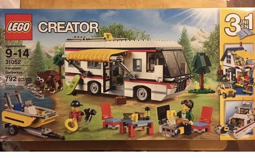 NEW Lego Creator Vacation Getaways Complete Set  31052 3-In-1 RetiROT  NIB