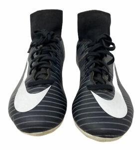 Nike-Mercurial-Calcio-Nero-Per-Ragazzi-Stivali-Da-Rugby-Borchie-Scarpe-Da-Ginnastica-SUPERFLY-1