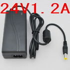 AC 100V-240V Converter Adapter DC 24V 1.2A 29W Power Supply Charger 1200mA New