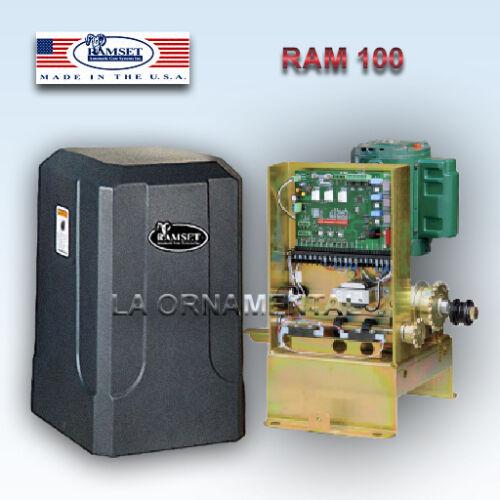 Gate Opener RAMSET 100 Sliding Gate Operator Residential Slide Automatic Chain