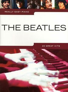 THE-BEATLES-Really-Easy-Piano-23-POP-Songs-BEGINNER-Music-Book-Hey-Jude-HELP-HIT