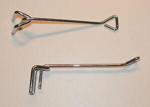 10-x-Gancho-simple-15cm-F-riel-de-montaje-5x-2cm-Soporte-Bolso-Colgante