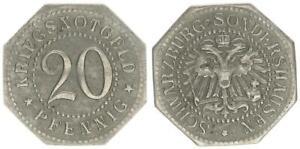 1920 20 Pfennig OFF. Notgeld Schwarzburg-vivere speciali, VZ 54229