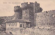GREECE - Rodi Rhodes - Tour de la Forteresse 1924